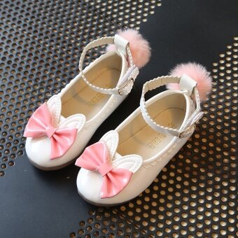 Girls shoes princess shoes 2017 spring New style Korean-style shoes1-year-old peas shoes 2 baby shoes 4 small girl's shoes