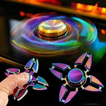 Great Fun Alloy EDC Fidget Finger Hand Spinner Toy 3D Focus Toys Stress Reliever Metal