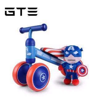 Harga GTE Baby Balance Walker Mini Cute Glide Bicycle Four Wheels