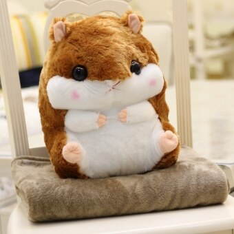 Harga Hamster hands warm pillow doll