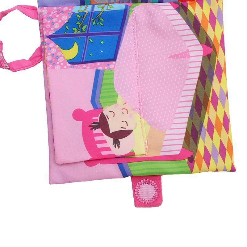 Hang-qiao Bahasa Inggris Bayi Buku Kain Pengajaran Pendidikan Dini Mainan Bayi .