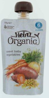 Harga Heinz Organic Sweet Baby Vegetables Pureed From 6 Months 120g