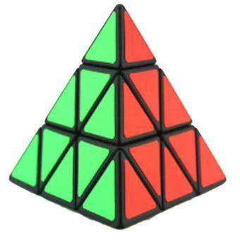 Harga Hequ Original cyclone boys Magic Speed Cube pyramid Cubo Magicoprofessional Puzzle education toys for children