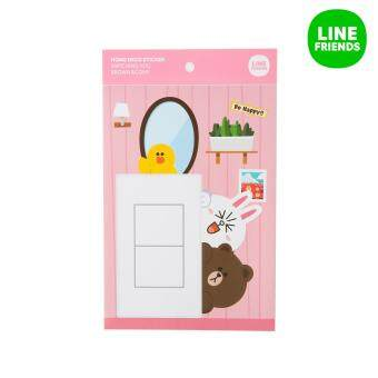 Harga HOME DECO STICKER STICKER_WATCHING YOU_BROWN&CONY