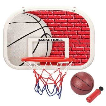 Home Mini Basketball Backboard Hoop Net Children Kids Indoor Game Toys Set