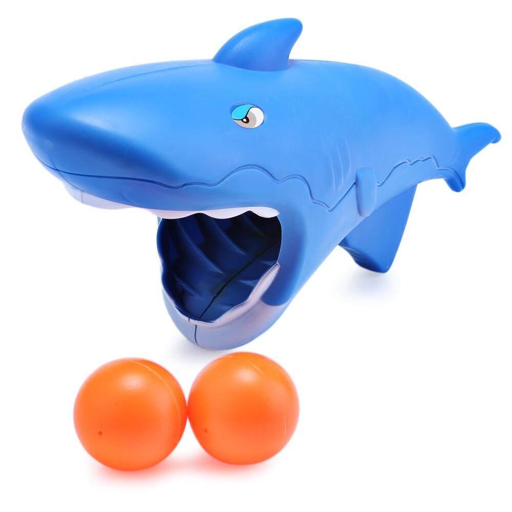 Hình ảnh Hongxiang Children Shark Shape Throwing and Catching Ball Parent-child Interactive Indoor Outdoor Sports Game - intl