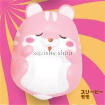Hot squishy Japan hamster super slow rebound toys slow rising a total of 4 models face