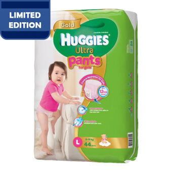 Huggies Ultra Pants Girl L44 x 1 Super Jumbo pack