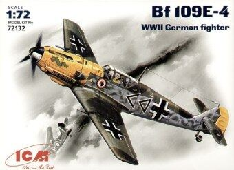 Harga ICM bf109e-4 military German fighting machine