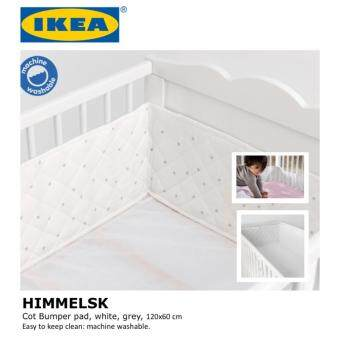 Harga IKEA HIMMELSK Baby Bumper Pad For Craddle, Baby Cot, 120x60 cm