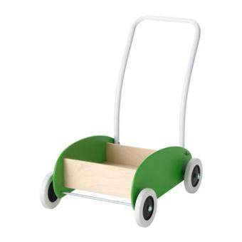 IKEA MULA Toddle Truck / Wagon / Walker, Birch (Green)