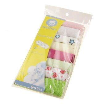Harga ilovebaby 8pcs Baby Soft Bath Towel Washcloth Wipe (Multicolor)