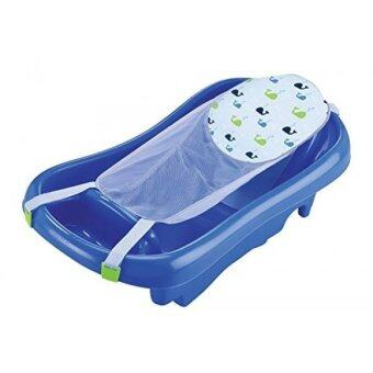Harga The First Years Sure Comfort Deluxe Newborn To Toddler Tub, Blue