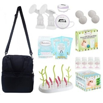 Harga Autumnz - ESSENTIAL Double Electric Breastpump **VALUE PACKAGE**