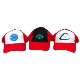 Harga Pokemon Trainers' Cap (A, B, C) (3 in 1)