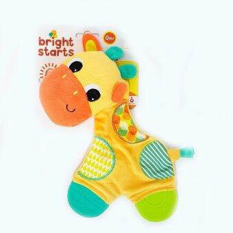 Harga Bright Starts Snuggle & Teether (Giraffe)
