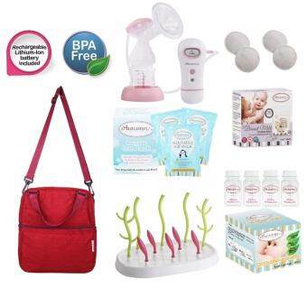 Harga Autumnz - CAREY Single Electric Breastpump **VALUE PACKAGE**