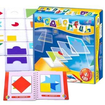 Harga Colorful 100 IQ Challenges For Logic Thinking & Brain Development