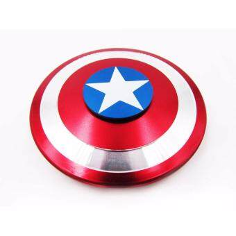Harga Fidget Spinner Metal Captain America Shield