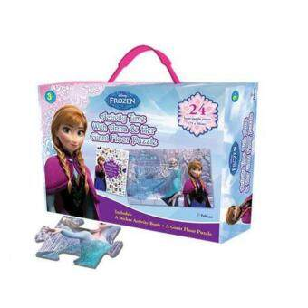 Harga Disney Frozen: Anna Activity Time with Her Giant Floor Puzzle Box Set