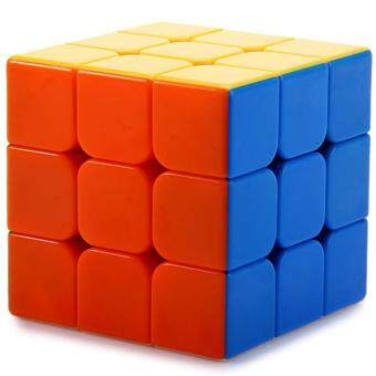 Harga Toys Games Brain Teasers Qy394-5 3X3X3 Professional Three Layers Magic Cube Brain Teaser(Colorful)