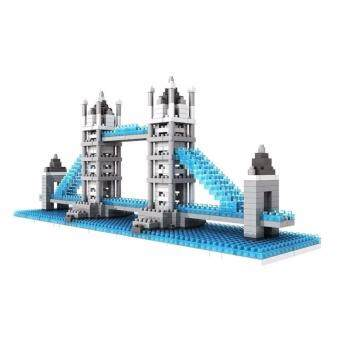 Harga Architecture/Building Series: London Bridge Loz Nano/Diamond Block [Nanoblock/Nanoblocks Compatible]
