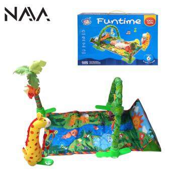 Harga NaVa Baby Safari World Children Rainforest Playing Sleeping Mat
