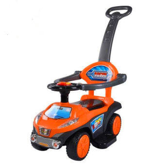 Harga BBH Q03-3 2 in 1 Push Car (Orange)