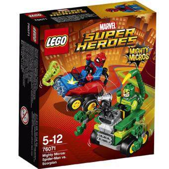 Harga LEGO Marvel Super Heroes 76071 - Mighty Micros: Spider-Man vs. Scorpion