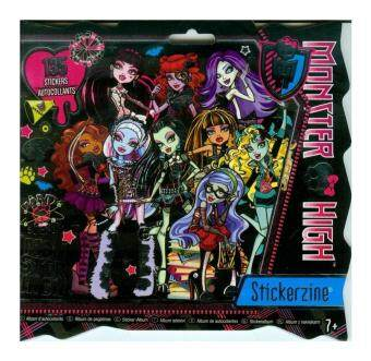 Harga Monster High Stickerzine