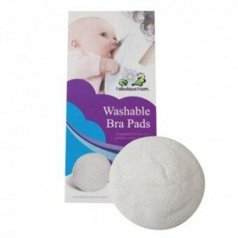 Harga Fabulous Mom - Washable Bra Pads (6 Pieces)