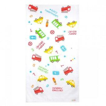 Harga Autumnz - Baby Bath Towel (Happy Drive)