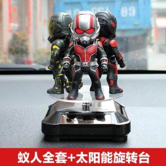 Harga HiShopHere (LED ANT-MAN) Car with Avenger Union genuine ant people hand-made man model toy toy civil war doll