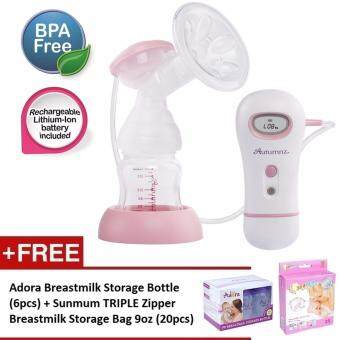 Harga Autumnz - CAREY Single Electric Breastpump *FREE GIFTS*