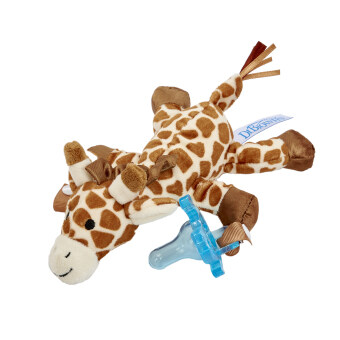Harga Dr Brown's Giraffe Lovey With Blue One Piece Pacifier