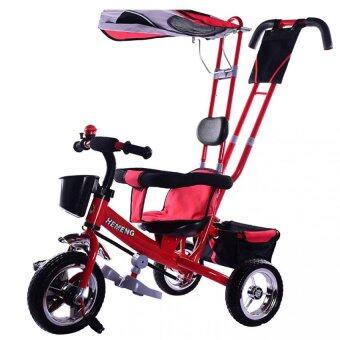 Harga SOKANO T001 Multifunctional Kid Tricycle- Red