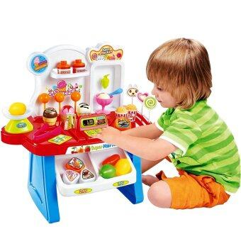 Harga SOKANO Mini Market Pretend Playset- Blue