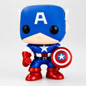 Harga Funko POP Captain America Action Figures Garage Kit