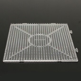 Harga Large Pegboards for Perler Bead / Hama Fuse Beads Clear Square Design Board New NEW