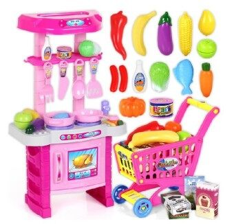 Harga Kids Kitchen Play Set - Pink