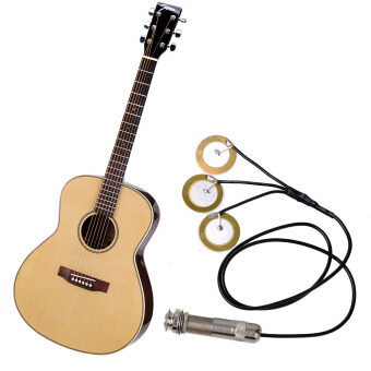 Harga Self-adhesive Electronic Acoustic Instrument Pickups Guitar Ukulele Mandolin Banjo Pickup