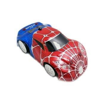 Harga 2016 Fun Kids Toys Mini RC Wall Climber Car Climbing Car Zero Gravity Electric Radio Car Toy Gift(Spider shell)