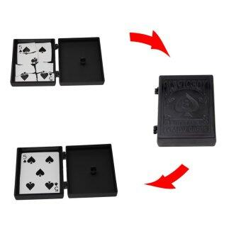 Harga 1pcs Professional Magician Magic Box Tear Off Poker Make Magic Tricks Surprise Box Close Up Magic Magic Toy Prop