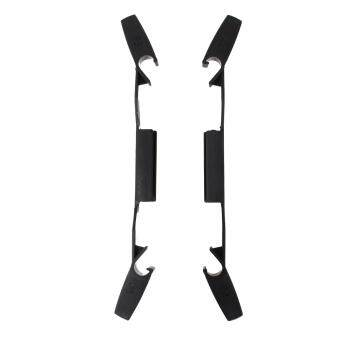 Harga BU Merssavo Extended Landing Gear Stabilizers Protector Kit Lengthened Heightened Landing Skid For DJI Phantom 3 Quadcopter Accessories--Black