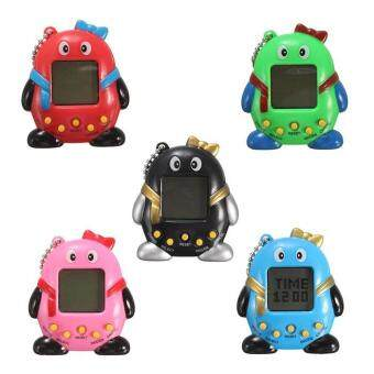 Harga Toys Games Electronic Pets Robotics Key Chain With Nostalgic 49 Pets In 1 Electronic Pet Game Toy - 1Pc(Colormix)