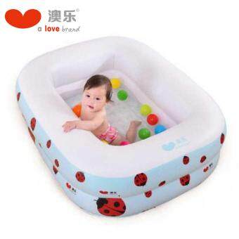 Harga A love Mini Swimming Pools 1.2 Meter (Snow White) - 2 Layer