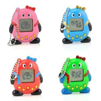Harga 1Pcs Gift Toy Multicolor Virtual Pets In One Penguin Electronic Digital Pet Machine Game Random Color