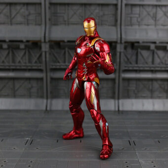 Harga Marvel Captain America Iron Man PVC Action Figure Collectible Model Toy