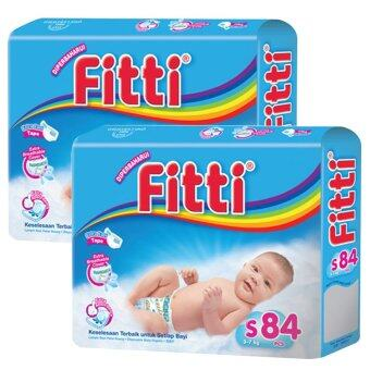 Harga FITTI Tape Diaper Jumbo Pack S84 (2 packs)