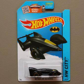 Harga Hot Wheels - Batman LIVE! Batmobile